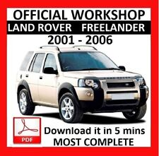 >> OFFICIAL WORKSHOP Manual Service Repair LAND ROVER FREELANDER 2001 - 2006
