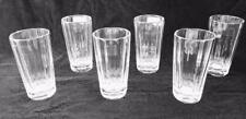 RALPH LAUREN HOME CRYSTAL CELESTE HIGHBALL GLASS SET OF SIX NWT $690