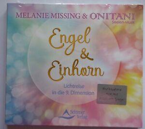 CD geführte Meditation  - ONITANI & Melanie Missing - Engel & Einhorn