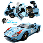 Shelby Collectibles 1:18 1966 Ford GT 40 MKII Gulf #1 (Blue) Diecast Model