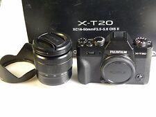 FUJI  Fujifilm X -T 20 mit XC 16 -50 mm 3,5-5,6  OIS II Objektiv