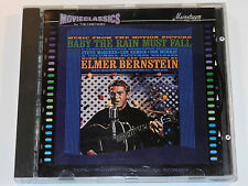 Elmer Bernstein BABY THE RAIN MUST FALL and THE CARETAKERS Soundtrack CD VG+