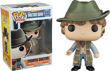 Funko Bobble Head Pop Culture Dr. Who 4th Fourth Doctor 232 Jelly Beans