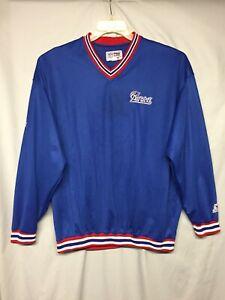 NFL Pro Line/Starter Vintage New England Patriots Coaches Pullover size XL