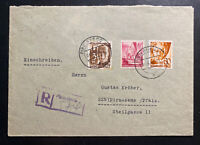 1948 Pirmasens Germany Allied occupation Commercial Cover Sc#6N12