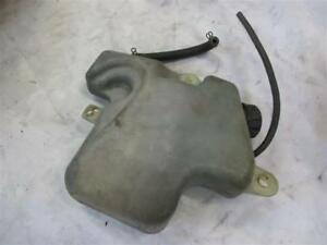 3. Kawasaki GPX 750 R ZX750F Coolant Expansion Tank Cooling Fan Water Tank