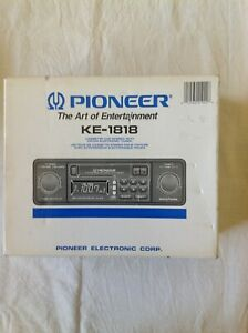 Pioneer KE 1818 In dash shaft style cassette player NIB