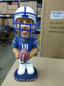 Peyton Manning Bobble Dobbles Blue Jersey Indianapolis Colts Bobblehead