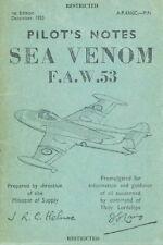DE HAVILLAND DH.112 SEA VENOM - ROYAL AUSTRALIAN NAVY