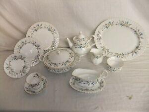 c4 Porcelain Bone China Royal Albert - Brigadoon - vintage tableware 4F4A