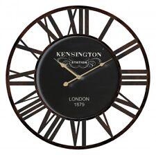 New Round 60cm Kensington Station London 1879 Wall Clock Home Decor