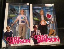 Singing Cody Simpson doll &  Cody Simpson Back Stage Pass Doll NIB. (lot Of 2).