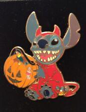 Disney Stitch in Halloween Devil Costume Trick Treat Candy Lilo Pin NEW