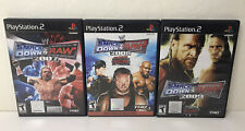 Smackdown Vs Raw 2007-2008-2009 PS2 Lot Of 3