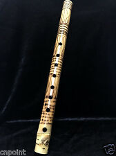 Thai Heritage Bamboo Flute Pipe Natural Handmade Wood Musical instrument Sound