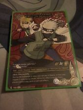 N-1060 KAKASHI & THE FOURTH HOKAGE Super Rare Naruto Card- Fast Ship