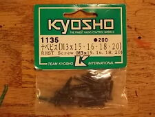 1135 RHST Screw M3 (3mm) - Kyosho Hardware Optima Mid Ultima Lazer Stinger