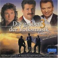 Klostertaler Die grossen 3 der Volksmusik 2 (2000, & Kastelruther Spatzen.. [CD]