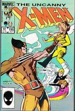UNCANNY X-MEN #195 1985 MARVEL-WOLVERINE- CLAREMONT/ROMITA...NM-