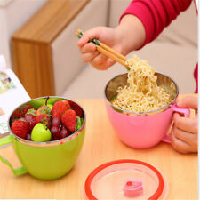 Stainless Steel Bowl Instant Noodle Bowl Food Container Rice Bowl