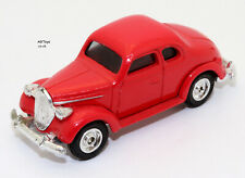 Dick Tracey Tess' Car Red Ford Coupe Die-cast Vehicle 1990 Opened