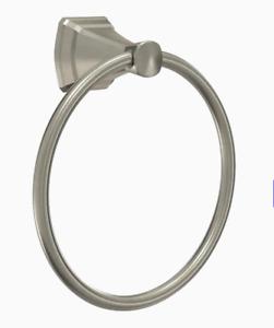 Delta FLY46-DN Flynn Brushed Nickel Wall Mount Towel Ring