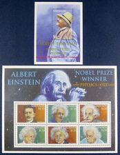 Grenada 2001 Einstein Physik Nobelpreis Wissenschaft 4872-77 + Block 662 MNH
