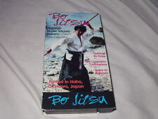 Bo Jitsu/Master Tetsuhiro Hokama VHS Japanese Language Martial Arts Instruction