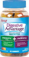 Digestive Advantage Probiotic Gummies Plus Fiber, 65 count