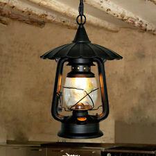 Black Pendant Light Bedroom Chandelier Lighting Kitchen Vintage Ceiling Lights