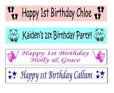Fabric Birthday, Child Party Banners, Buntings & Garlands