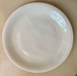 "Rorstrand Swedish A La Carts Pink Trim 10.5"" Dinner Plate MINTY"