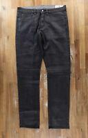 BELSTAFF straight leg gray coated jeans authentic - Size 36 US / 52 EU - NWOT