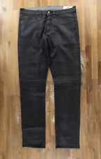 BELSTAFF straight leg gray coated jeans authentic - Size 36 US / 52 EU - NWOT