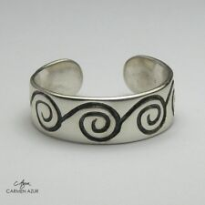 Solid 925 Sterling Silver Toe Ring Celtic Style Design Ladies, New with Gift Bag