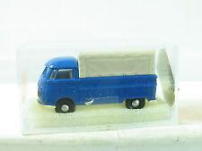 Brekina Bus T1 Pritsche blau mit Plane unbeschriftet OVP (R8755)
