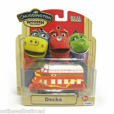 DECKA Chuggington Wooden Railway NEW IN BOX fits Thomas Wooden DECCA