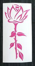 adesivo fiore rosa decal sticker vinile ritagliato sticker flower rose