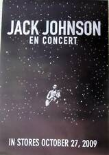 Jack Johnson - EN CONCERT Promo Poster [2009] VG++