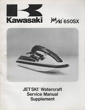 Kawasaki 650 sx service manual ebay 1991 kawasaki jet ski 650sx service manual supplement 99924 1147 51 875 publicscrutiny Gallery