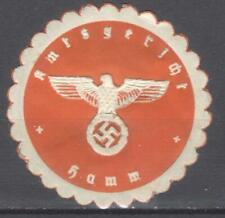 Germany Nazi era letter seal court of Hamm