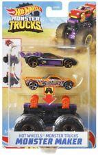 Hot Wheels Monster Trucks Monster Maker Bone Shaker Diecast Car