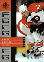 2002-03 SP Authentic #127 Pavel Brendl FG /2003