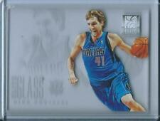 2012-13 Panini Elite Series Glass Dirk Nowitzki Dallas Mavericks