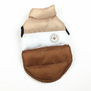 Small Dog Pet Warm Cat Coat Jacket Clothes Winter Clothing Puppy Costume