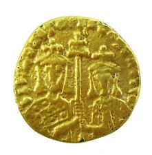 Unique FOUREE Albahaca I y Constantino _ FOUREE de plata chapado en oro 1.80g/20mm R-947