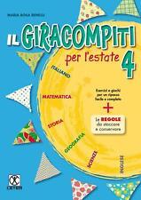 Il Giracompiti per l'estate. 4 + Jolly Roger 4 - Benelli Maria Rosa