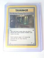 THE ROCKET'S TRAINING GYM - Gym Heroes  - 104/132 - Rare - Pokemon Card - EXC/NM