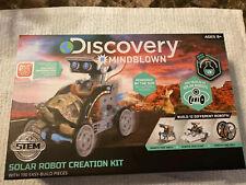 DISCOVERY KIDS MINDBLOWN STEM 12-In-1 SOLAR ROBOT CREATION 190-Piece