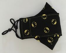 Batman Badges 100% Cotton Fabric Face Mask For Adult FREE SHIPPING